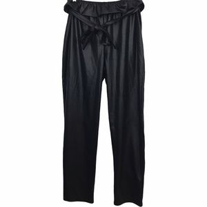 Pretty Little Thing Paperbag Tie Front Pants